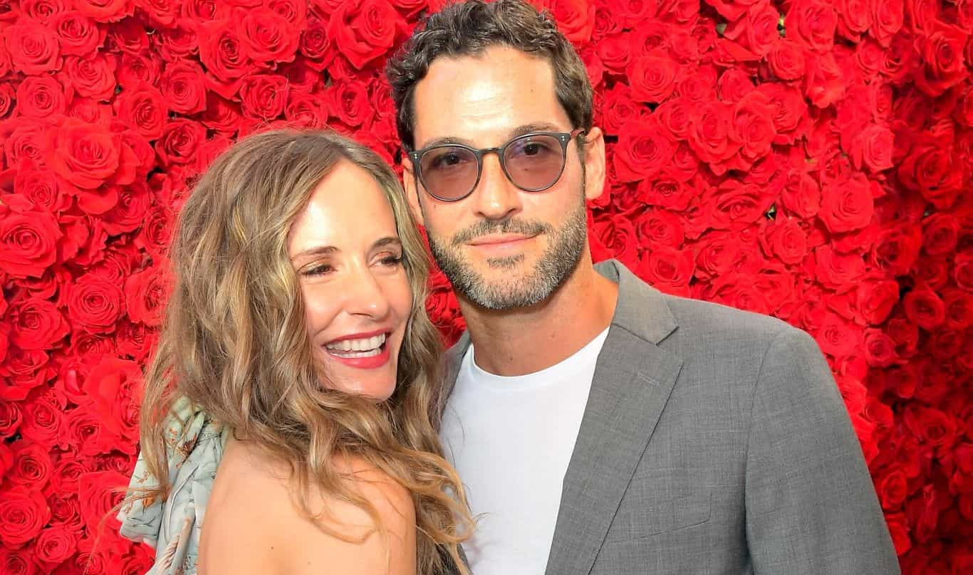 Tom Ellis has shown the security that protects his wife ...