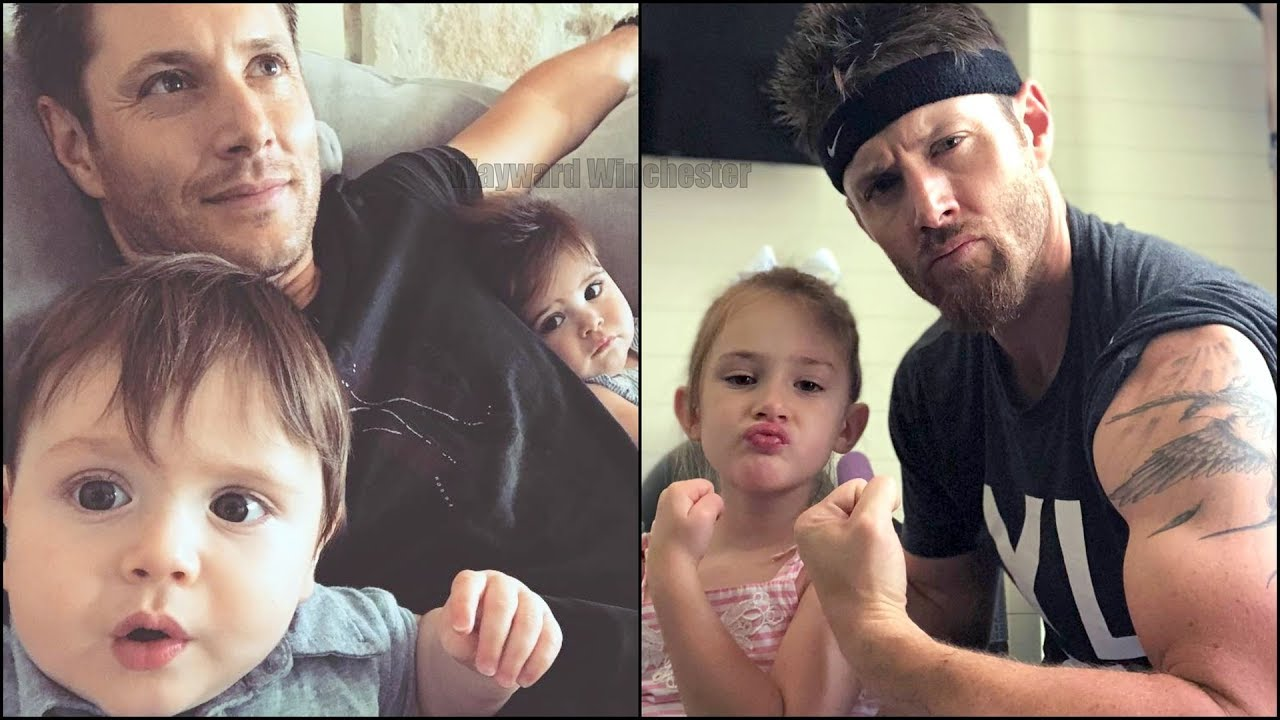 Jensen Ackles teaches his son how to make bacon-sushi