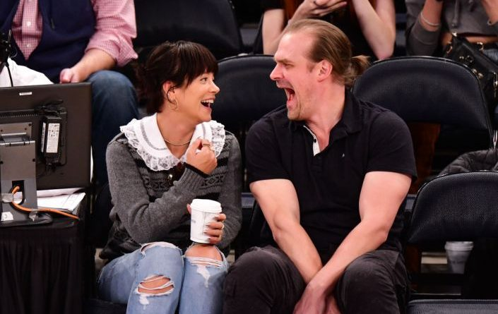Stranger Things David Harbour and Lily Allen could be planning on having kinds together