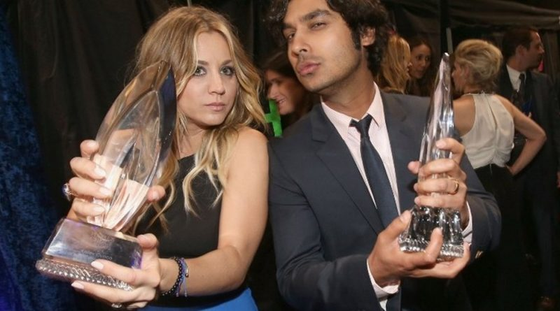 The Big Bang Theory star Kunal Nayyar with an adorable PHOTO with the cast for the Birthday of Kaley Cuoco