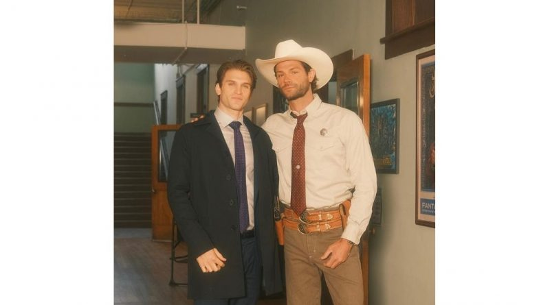 Keegan Allen and Jared Padalecki share some BTS photos before the premiere of Walker [PHOTOS]